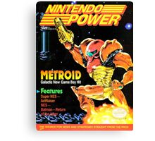 Nintendo Power - Volume 31 Canvas Print
