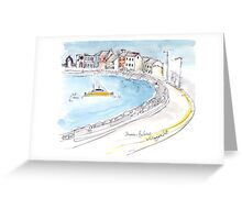 Skerries Harbour, Dublin, Ireland Greeting Card