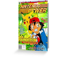 Nintendo Power - Volume 125 Greeting Card