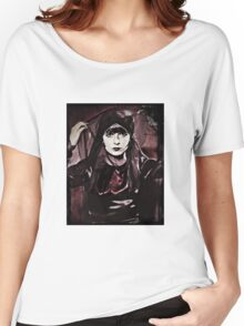 Louise Brooks in Purple Veils Women's Relaxed Fit T-Shirt