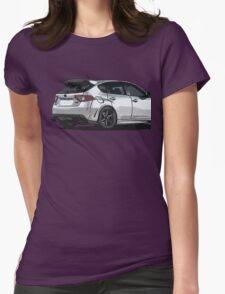 Subaru WRX STI Impreza Hatchback Womens Fitted T-Shirt
