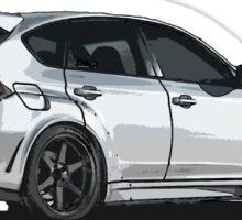 Subaru WRX STI Impreza Hatchback Sticker