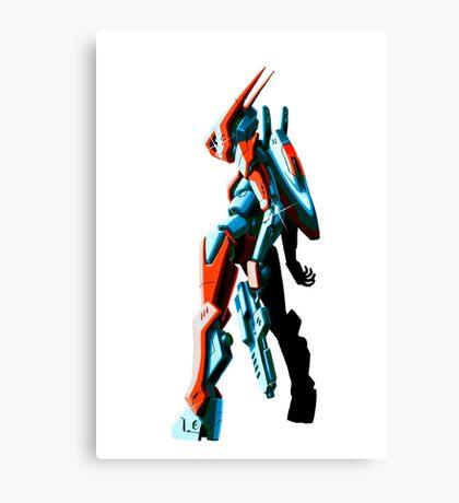 Retro-Bot Canvas Print