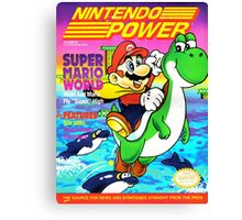 Nintendo Power - Volume 28 Canvas Print