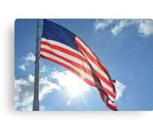 Sweet Land of Liberty Canvas Print