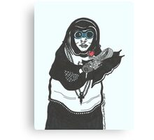 Steampunk Nun Canvas Print