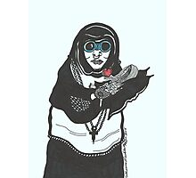 Steampunk Nun Photographic Print