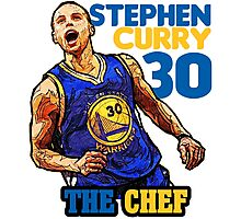 Curry 30 Photographic Print