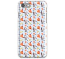 Dumb Bunny, Sly Fox (Blue) iPhone Case/Skin