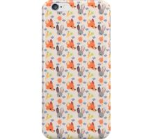 Dumb Bunny, Sly Fox (Pink) iPhone Case/Skin