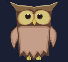 Funny toon owl Kids Tee