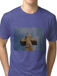 Cross in Wales Tri-blend T-Shirt