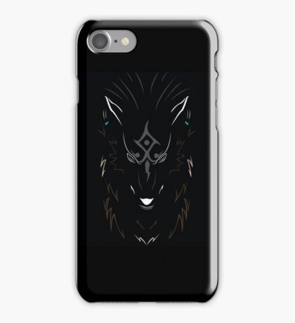 Wolf Link  iPhone Case/Skin