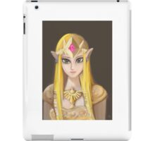 Solemn Princess Zelda iPad Case/Skin
