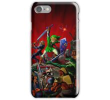 Link and Sheik iPhone Case/Skin