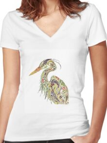 Bird Women's Fitted V-Neck T-Shirt