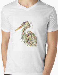 Bird Mens V-Neck T-Shirt