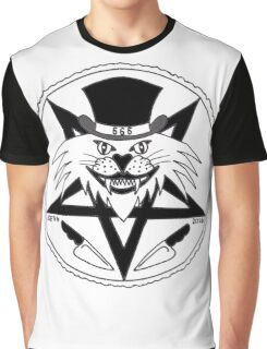 JACK THE RIPPER CULT CAT Graphic T-Shirt
