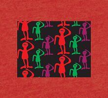 Сolorful men abstract pattern  Tri-blend T-Shirt
