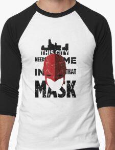 Daredevil quote Men's Baseball ¾ T-Shirt