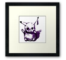 Purplechu Framed Print