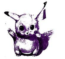 Purplechu Photographic Print