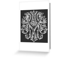 """YAMOLODOY"" Design pattern Greeting Card"
