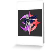 Stained Glass Male Corrin Greeting Card