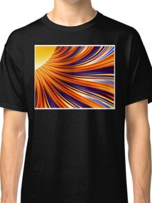 Color & Form Abstract - Solar Gravity & Magnetism 3 Classic T-Shirt