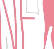 Life is strange Jane Doe pink Sticker