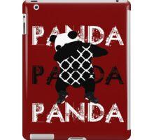 Panda x3 iPad Case/Skin