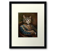 The Hermitage Court Outrunner Cat  Framed Print