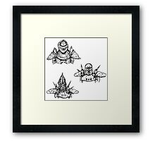 Guards of the Great Houses of Morrowind  Framed Print