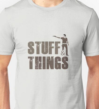 Walking Dead - Stuff and Things Unisex T-Shirt