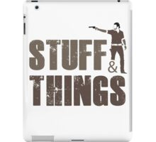 Walking Dead - Stuff and Things iPad Case/Skin