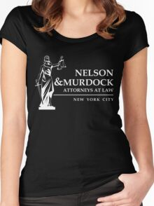 Nelson & Murdock Attorneys Women's Fitted Scoop T-Shirt