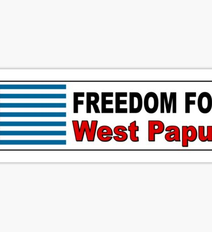 Freedom For West Papua Sticker