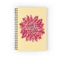 Beautiful unique red chrysanthemum Spiral Notebook