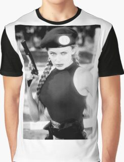CAMMY STREET FIGHTER KYLIE MINOGUE Graphic T-Shirt