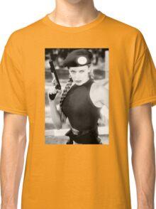 CAMMY STREET FIGHTER KYLIE MINOGUE Classic T-Shirt