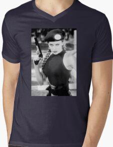 CAMMY STREET FIGHTER KYLIE MINOGUE Mens V-Neck T-Shirt