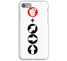 Shoryuken Input iPhone Case/Skin