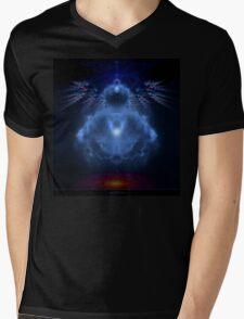 Buddhabrot Fractal Mandelbrot  - Digital Art Mens V-Neck T-Shirt