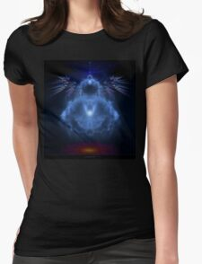 Buddhabrot Fractal Mandelbrot  - Digital Art Womens Fitted T-Shirt
