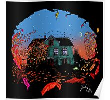 House in red Poster