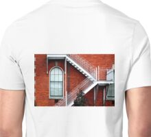 Bricks, Windows & Stairs Unisex T-Shirt