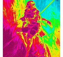 Rainbow Elf Warrior Photographic Print