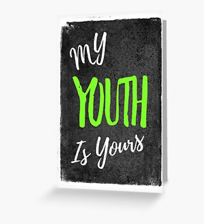 Troye Sivan - My Youth is Yours Greeting Card
