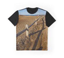 Fence - Shadmoor State Park | Montauk, New York Graphic T-Shirt