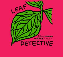 Trillium - Leaf Detective Womens Fitted T-Shirt